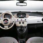 Fiat 500 dashboard