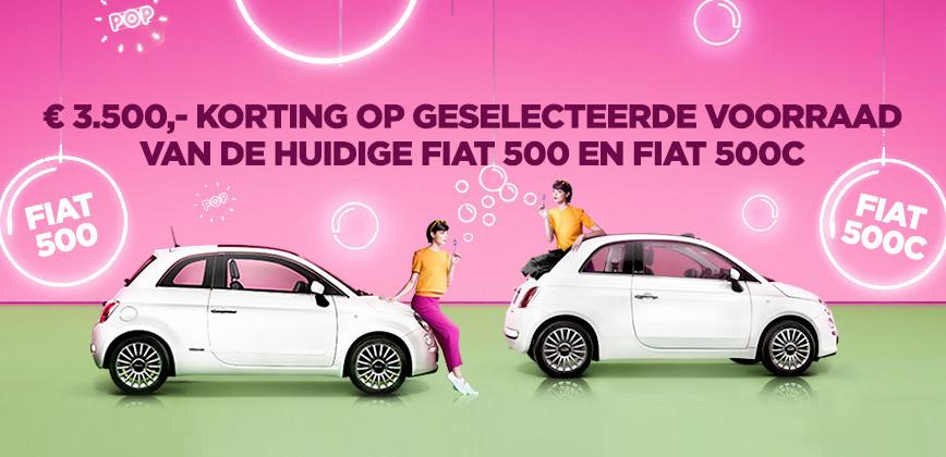 3 500 Korting Op Een Nieuwe Fiat 500 Koene Auto Koene Auto