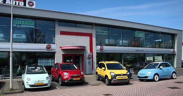 Fiat Garage Tiel : Koene auto fiat dealer velserbroek